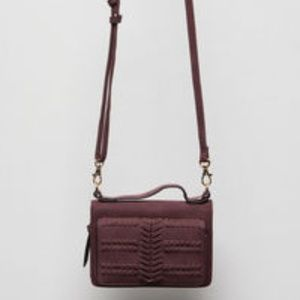 Free People Peyton Whipstitch Wallet Crossbody Bag